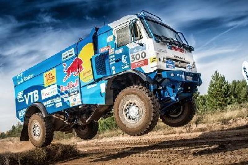 Cztery Kamazy na Dakar