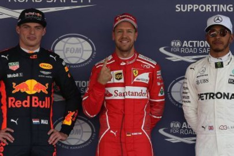 50 pole position Vettela