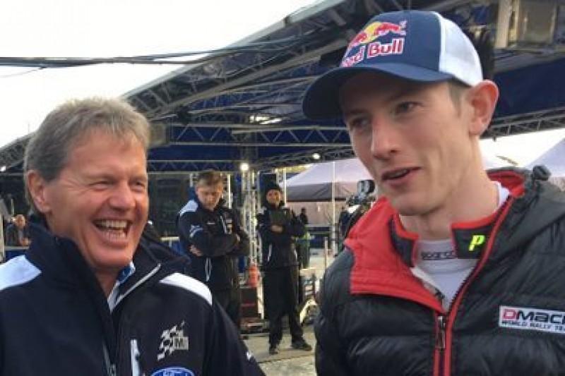 Evans w M-Sporcie i z Michelinem
