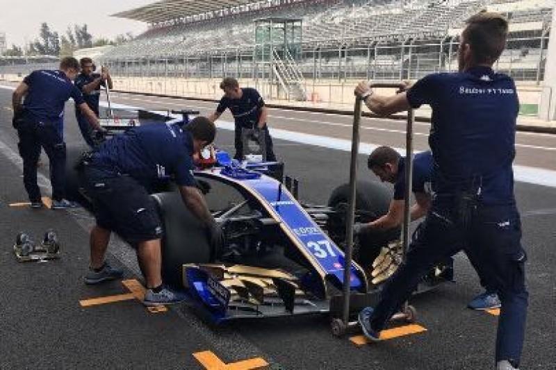Testowali Pirelli