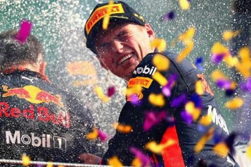 Verstappen woli procesje w F1