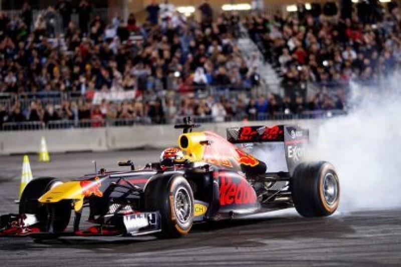 Verstappen w Las Vegas