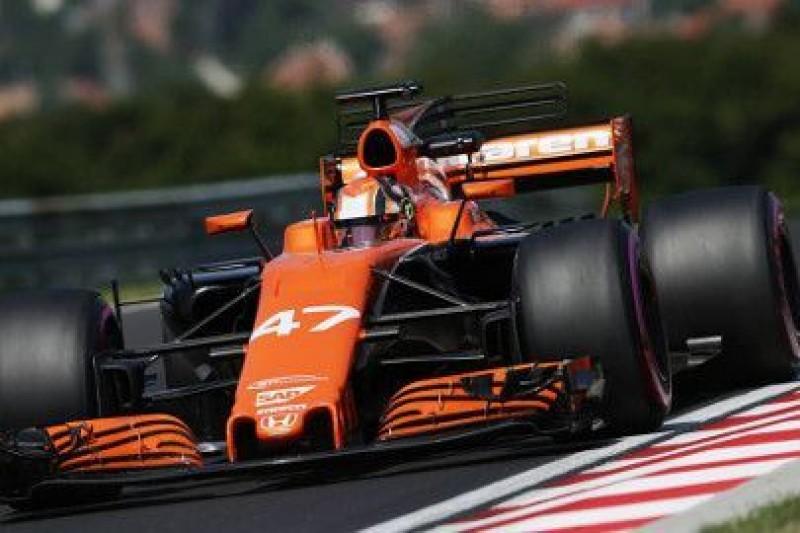 Norris rezerwowym McLarena?