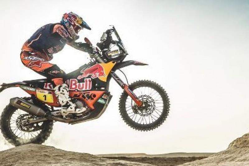 Nowy KTM na Dakar