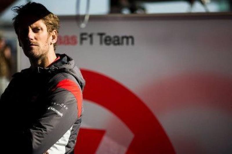 Grosjean zadowolony ze współpracy z Haasem