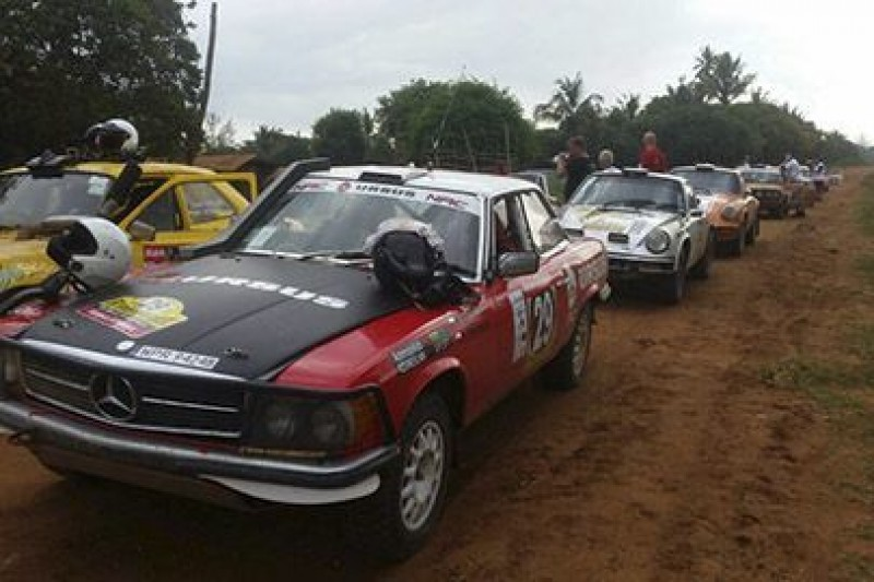 Po drugim etapie East African Safari Classic Rally