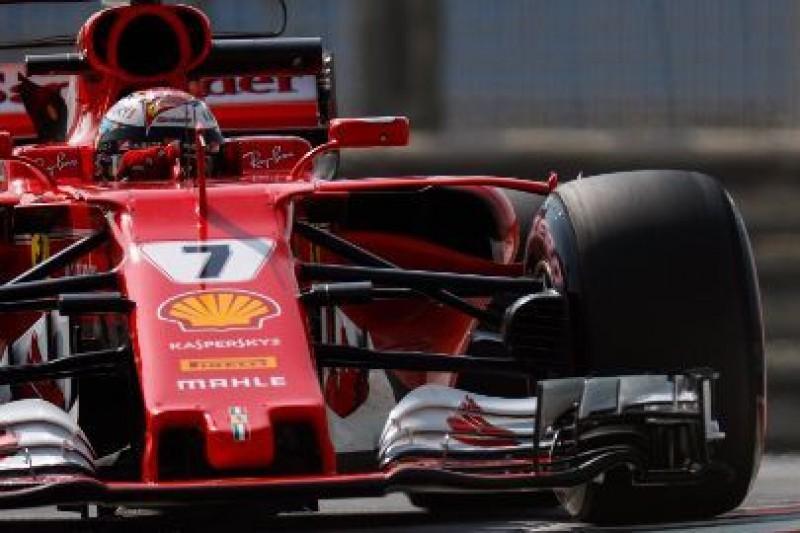 Hipermiękkie opony Räikkönena