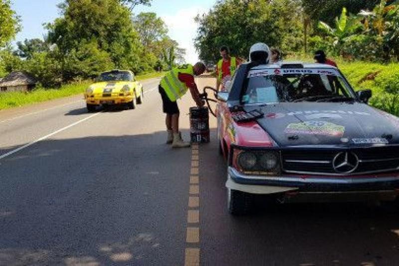 East African Safari Classic Rally: Mówią po 5 etapie