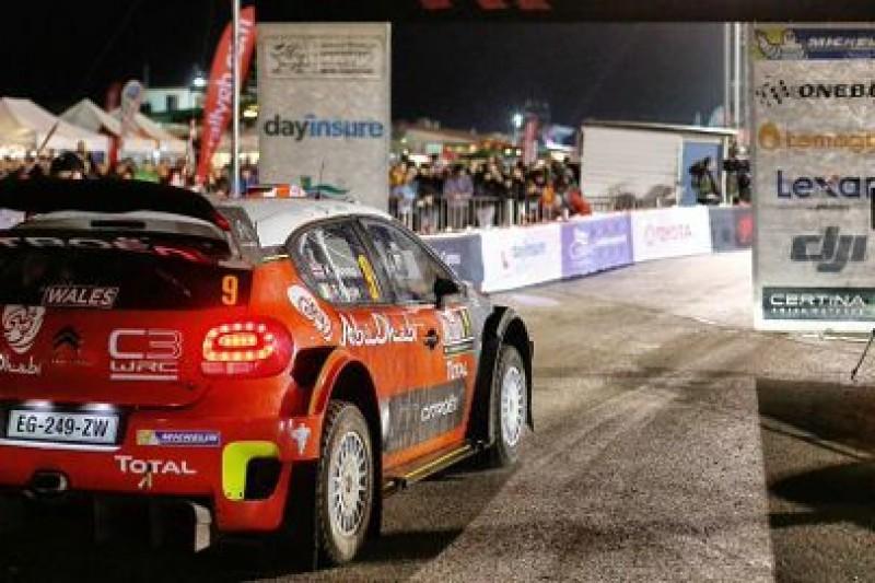 Mahonen krytykuje Wales Rally GB