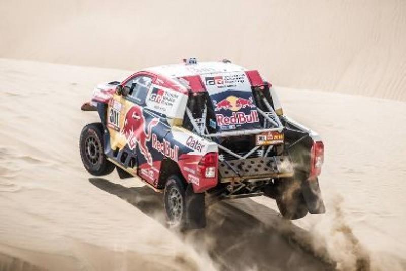 Nasser szybszy od Peugeotów