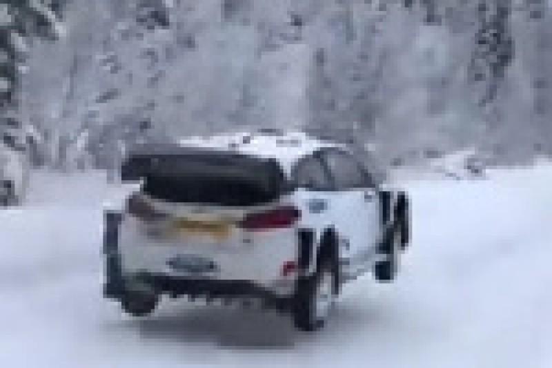 M-Sport testuje w Szwecji