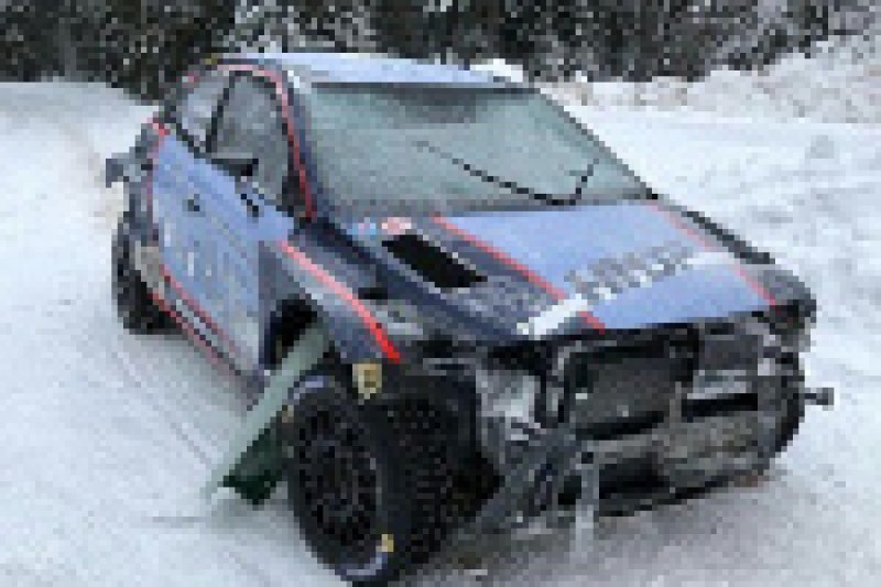 Huttunen rozbił Hyundaia