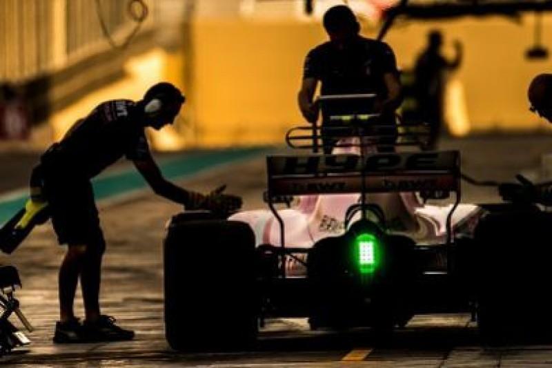 Force India w poniedziałek