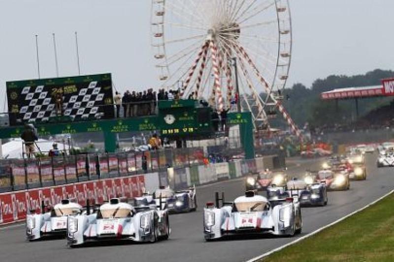 Przesunięto linię startu Le Mans