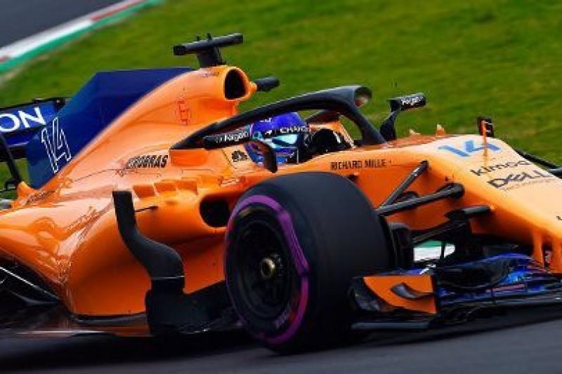 Alonso zgubił koło