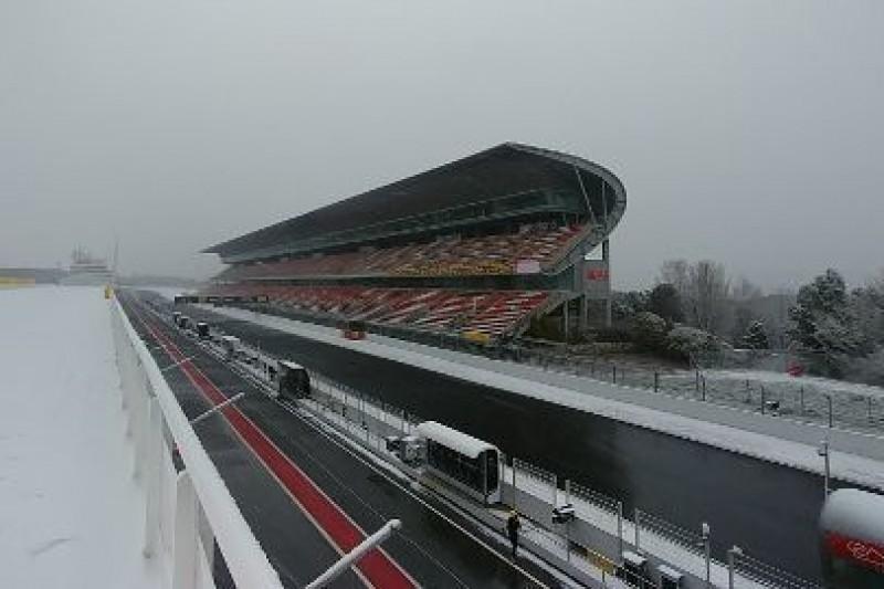 Circuit pod śniegiem