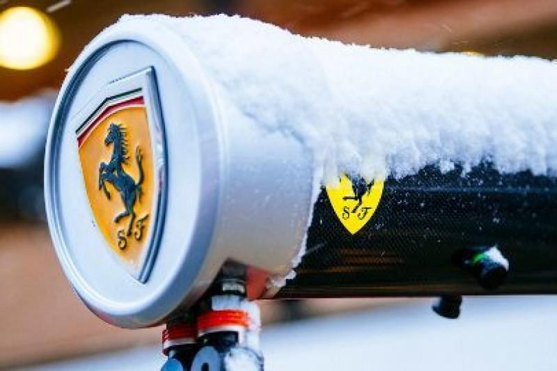 Wyjechał Kubica, Ferrari nie testuje