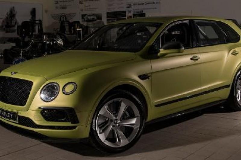 Millen kierowcą Bentleya