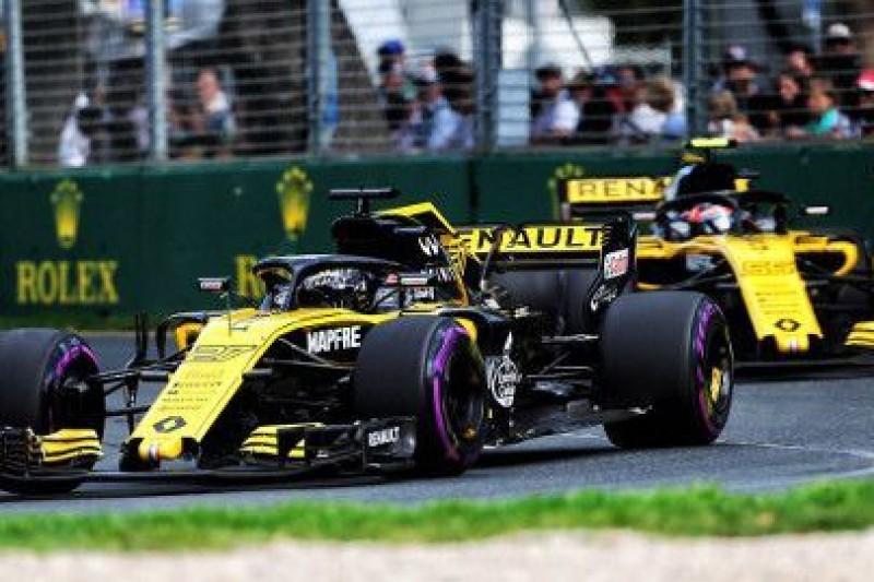 Renault chce zamrożenia silników F1