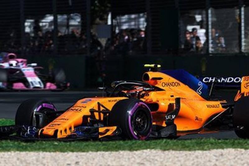 Opóźnienia w McLarenie
