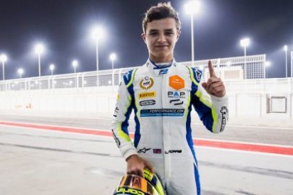 Norris na pole position