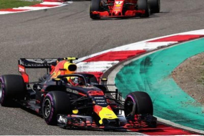 Verstappen jak Vettel