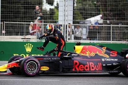 Ricciardo był tylko pasażerem