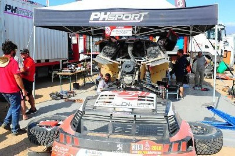 Hunt Peugeotem w Kazachstanie