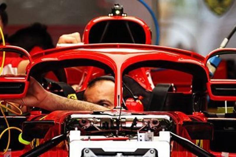Ferrari z nowymi lusterkami
