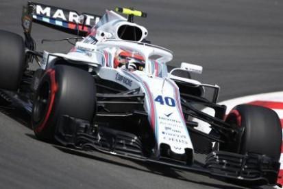 Kubica najszybszy w Williamsie