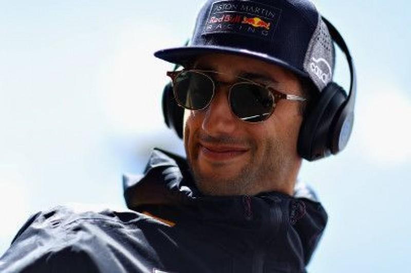 Ricciardo nie śpieszy się