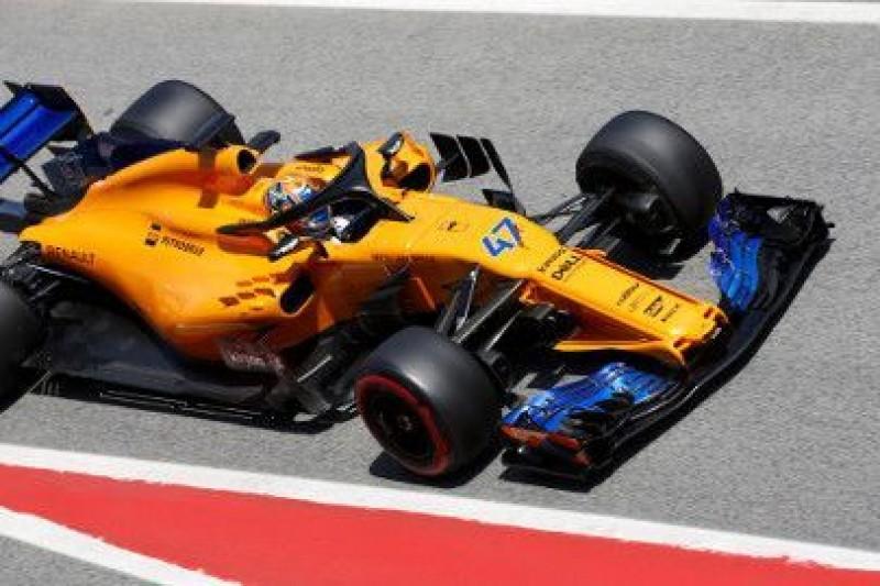 McLaren na równi z Renault i Haasem