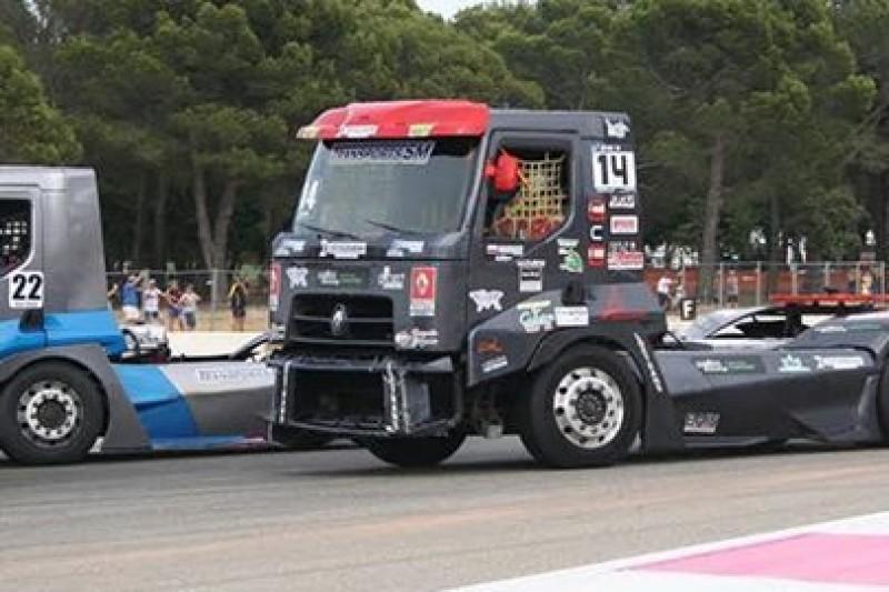 Ostaszewski w Truck Racing French Gran Prix