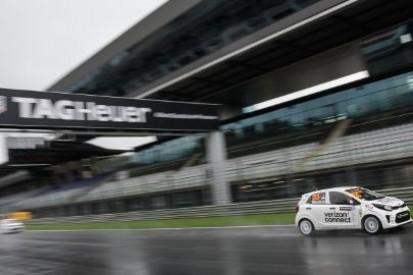 Deszcz rozstrzygnął losy pole position