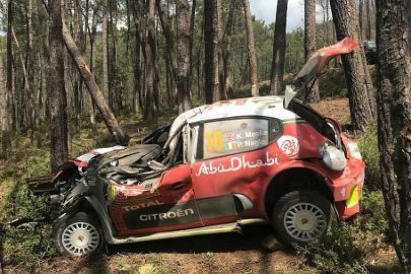Konstrukcja C3 WRC uratowała Meeke'a i Nagle'a