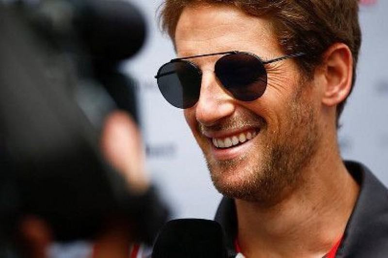 Grosjean chce zostać w Haasie