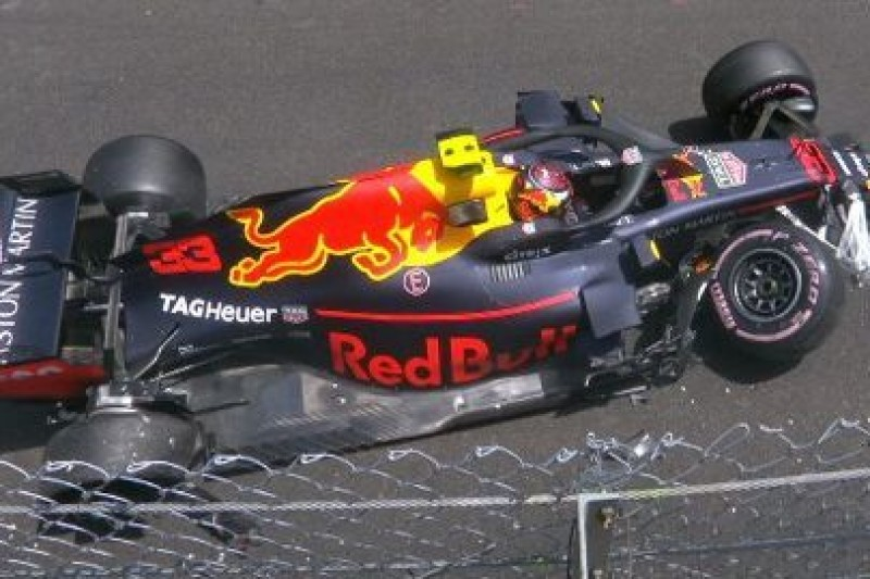 Rekord Ricciardo, kraksa Verstappena