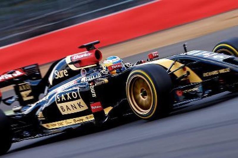 Większe koła w F1