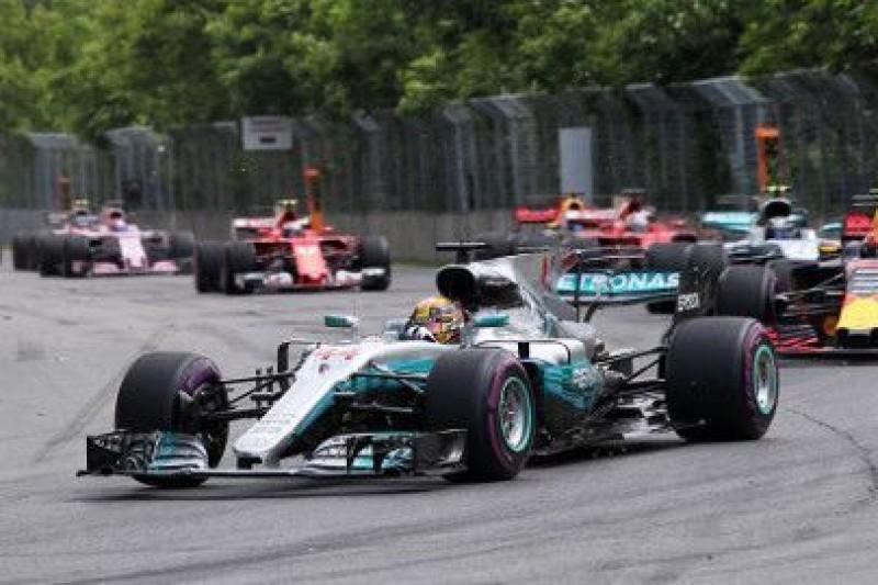 Trzy strefy DRS podczas GP Kanady