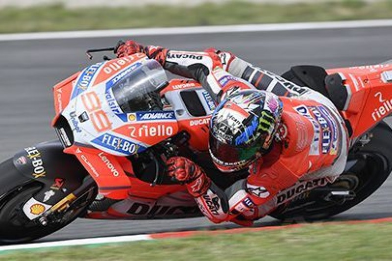 Pierwsze pole position Lorenzo na Ducati