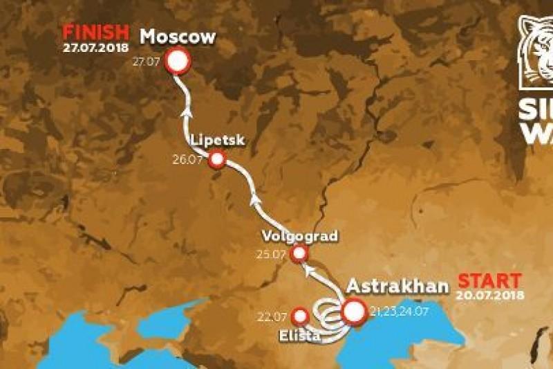 Silk Way Rally tylko w Rosji