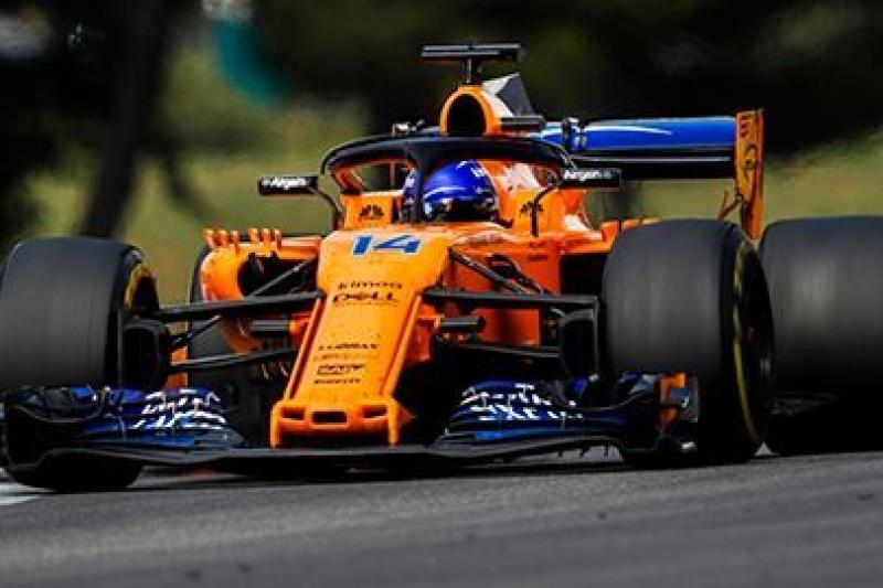 Słabsza forma McLarena we Francji