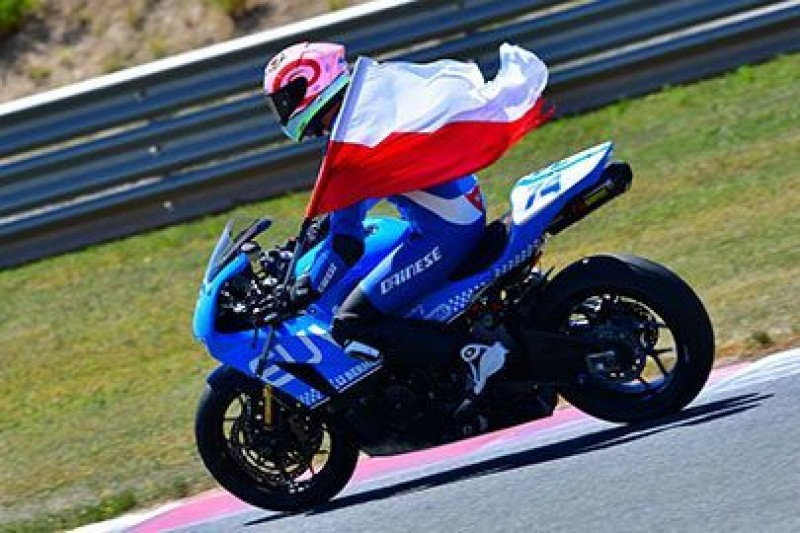 Pierwsze zwycięstwo Polaka w motocyklowych mistrzostwach Hiszpanii
