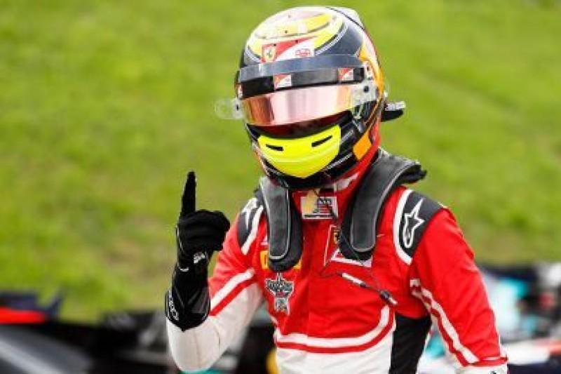 Pole position dla juniora Ferrari