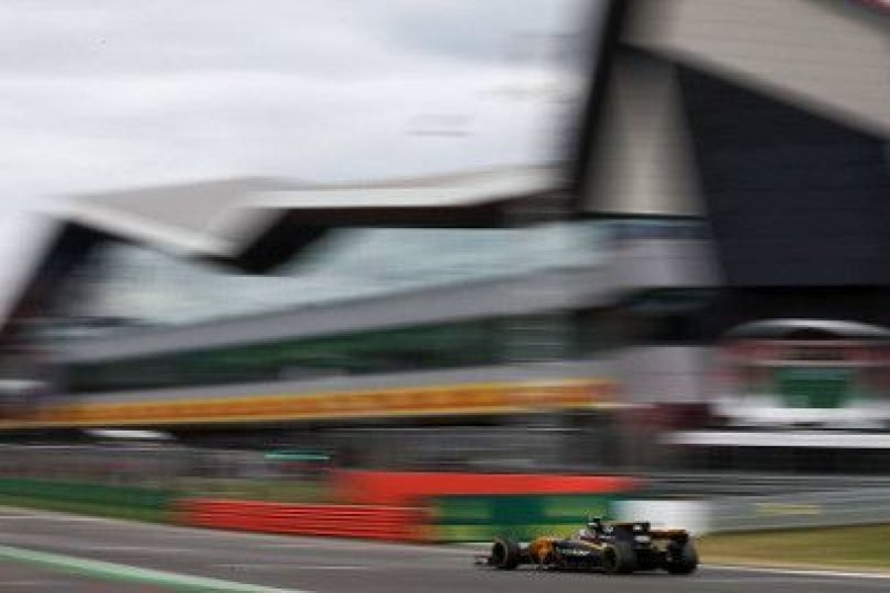 Trzy strefy DRS na Silverstone