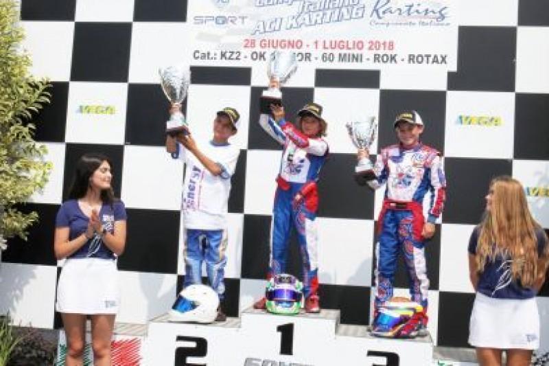 Na podium w Lonato