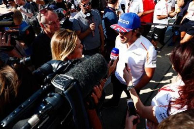 Alonso nie dyryguje McLarenem