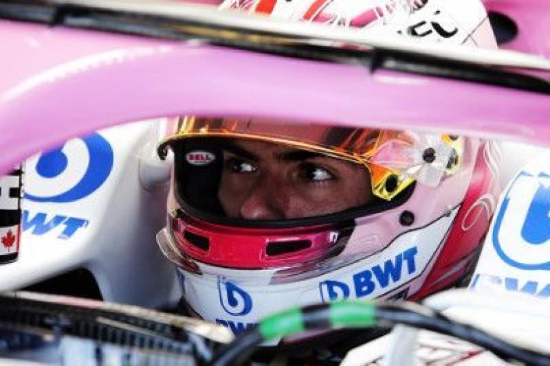 Latifi pojeździ przed GP Niemiec