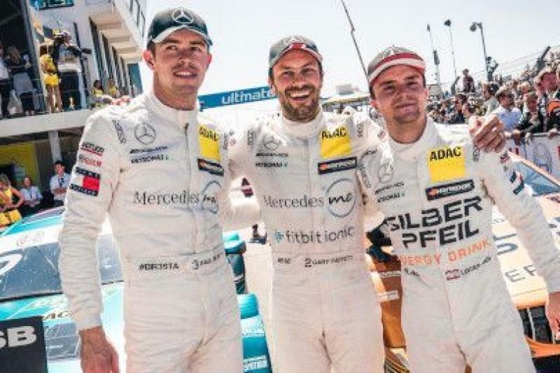 Mercedes rządzi w Zandvoort