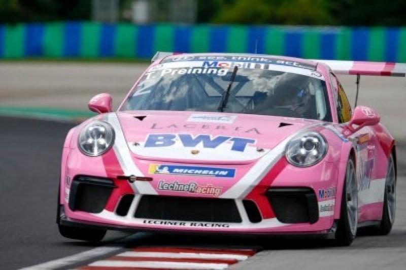 Popisy juniorów Porsche